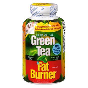 商品绿茶速效燃脂剂液体软胶囊图片