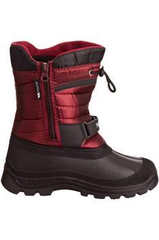 商品Trespass Youths Big Boys/Girls Kukun Pull On Winter Snow Boots (Red)图片