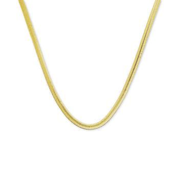 """商品Silver Plated Snake Link 24"""" Chain Necklace图片"""