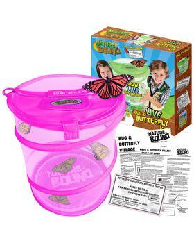 商品Thin Air Brands Bug & Butterfly Village (Pink)图片