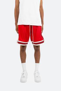 商品Classic Basketball Shorts - Red/White图片