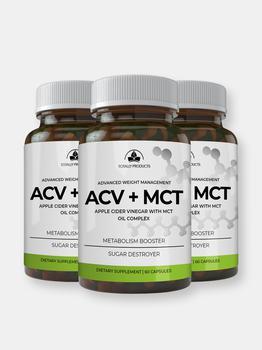 商品Apple Cider Vinegar with MCT Oil Complex (180 capsules)图片