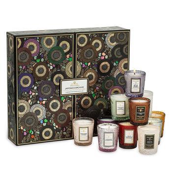 商品Japonica Archive 12 Embossed Candles Gift Set图片