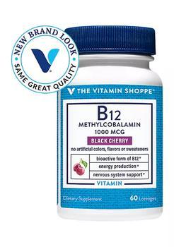 商品B12 Methylcobalamin - 1,000 MCG - Black Cherry (60 Lozenges)图片