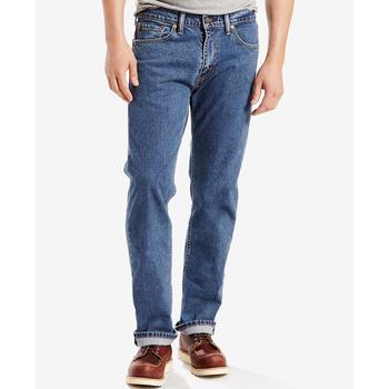 商品Levi's Men's 505 Regular-Fit Jeans 男士李维斯普通裁剪505牛仔裤图片