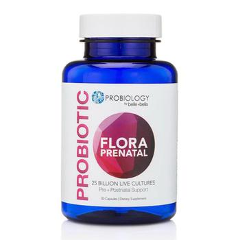 商品Belle + Bella Probiotic Floral Prenatal Supplement Capsules, 30 Ea图片