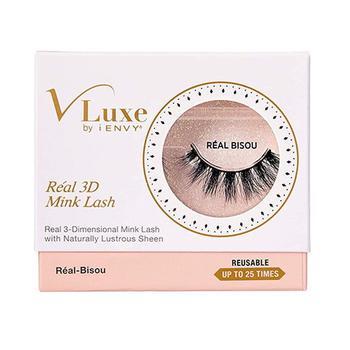 商品Kiss Vluxe Real 3D Mink Lashes Real Bisou, 1 Ea图片