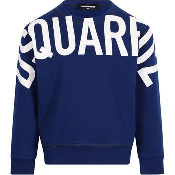 商品DSQUARED2 KIDS - Sweatshirt, Blue, Boy, 10 yrs图片