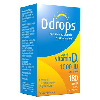 商品Ddrops 维他命D3滴剂 1000IU图片