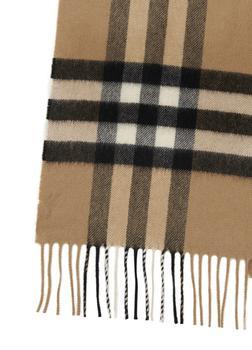 商品经典格纹羊绒围巾图片