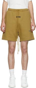 商品Khaki Fleece Shorts图片