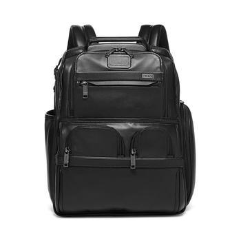 商品Alpha 3 Leather Compact Laptop Brief Pack图片