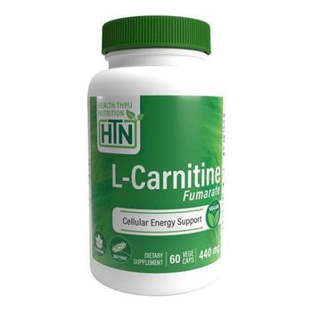 商品Health Thru Nutrition L-Carnitine Fumarate 440 mg Capsules, 60 Ea图片