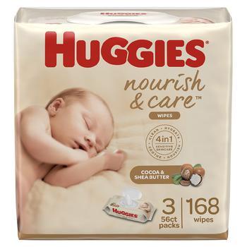 商品Scented Baby Wipes, 3 Flip-Top Packs Cocoa & Shea Butter图片
