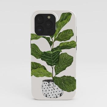 商品Fiddle leaf fig Tree iPhone Case图片