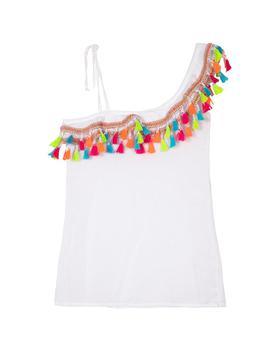 商品PQ Swim One Shoulder Tassel Dress图片