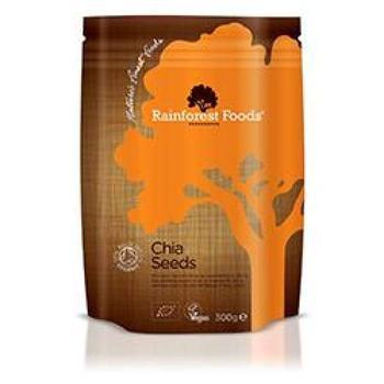 商品Rainforest Foods Organic Chia Seeds 300g图片