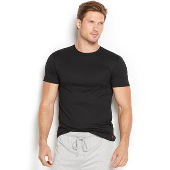 商品Men's Supreme Ultra-Soft Pima Jersey Comfort Crew-Neck Undershirt图片