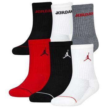 商品Jordan Legend Crew Socks 6-Pack - Boys' Grade School图片