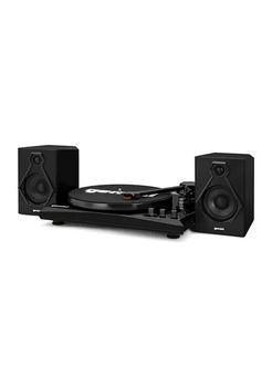 商品Vinyl Record Player Turntable with Bluetooth and Dual Stereo Speakers图片