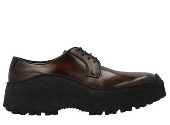 商品Berluti Square Toe Derby Shoes - UK7 / Multi图片