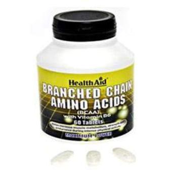 商品HealthAid Branched Chain Amino Acids 60 tablet图片