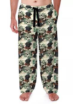 商品Big & Tall Nature Print Pajama Pants图片