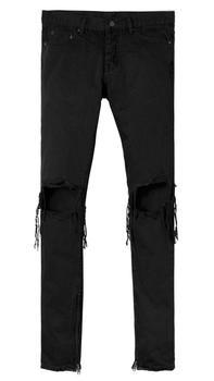 商品M1 黑色男款 牛仔裤 修身版型图片