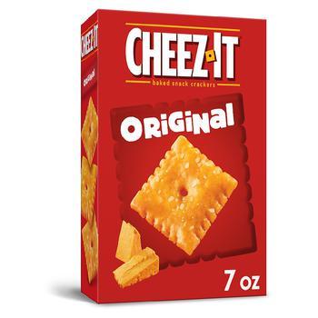商品Baked Snack Cheese Crackers Original图片