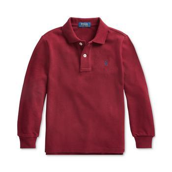 商品Little Boys Basic Mesh Knit Polo Shirt图片