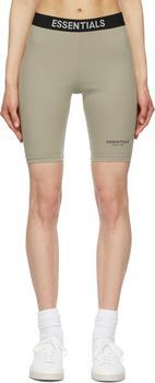 商品Grey Athletic Bike Shorts图片