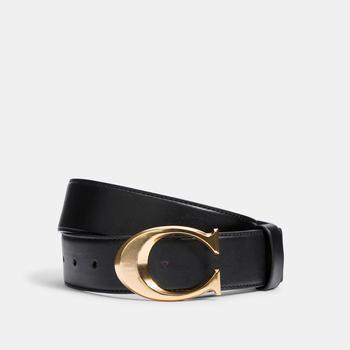 商品COACH Signature Buckle Belt, 38 Mm图片