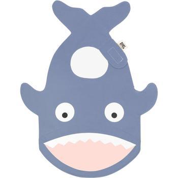 商品Shark shaped bib in blue图片