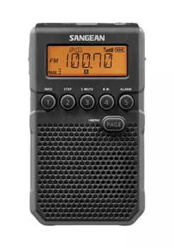 商品AM/FM Weather Alert Pocket Radio (Black)图片