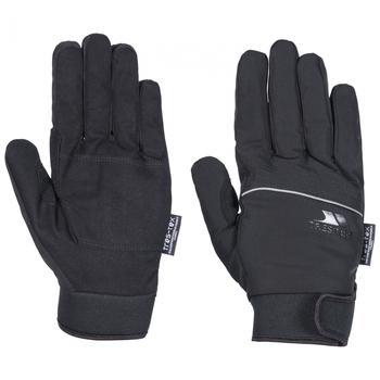 商品Trespass Mens Cruzado Waterproof Winter Gloves (Black)图片