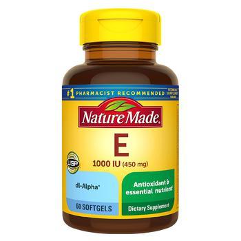 商品Vitamin E 450 mg (1000 IU) dl-Alpha Softgels图片