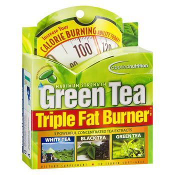 商品Maximum Strength Green Tea Triple Fat Burner, Liquid Soft-Gels图片