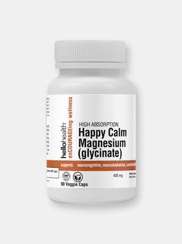 商品Happy Calm Magnesium Glycinate – 90 Day Supply图片