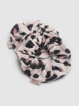 商品Patented Microfiber Towel Scrunchies Leopard (Black)图片