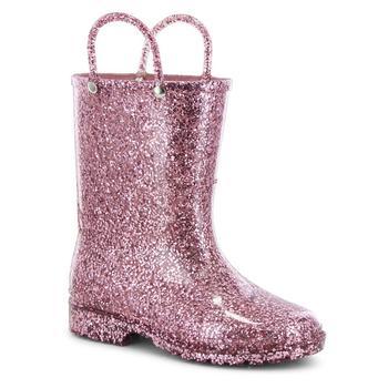 商品Toddler, Little Girl's and Big Girl's Glitter Rain Boots图片