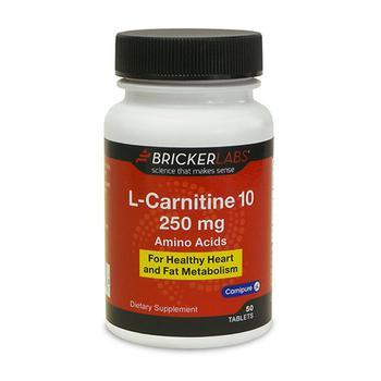 商品Bricker Labs Carnipure L-Carnitine 250mg, 50 Ea图片