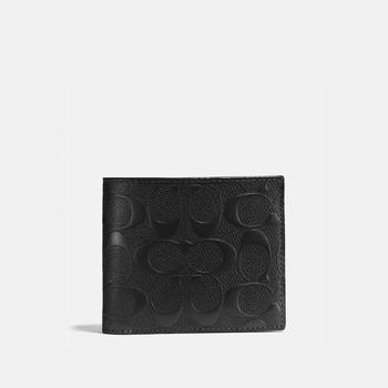 商品COACH Compact Id Wallet In Signature Leather图片