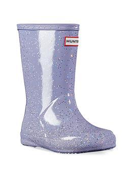 商品Baby's, Little Girl's & Girl's First Original Glitter Rain Boots图片