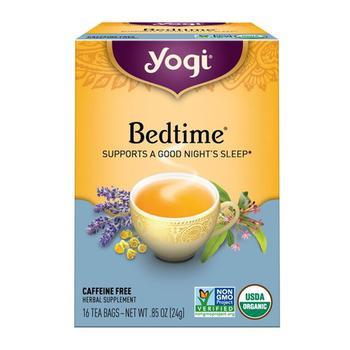商品Yogi Bedtime Natural Herbal Supplement Tea Bags - 16 Ea图片