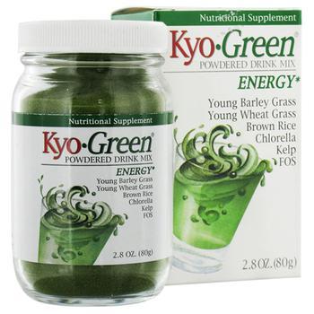 商品Kyolic Kyo Green Powdered Drink Mix, Energy - 2.8 Oz图片