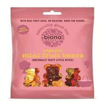 商品Biona Organic Mini Fruit Bears 75g图片