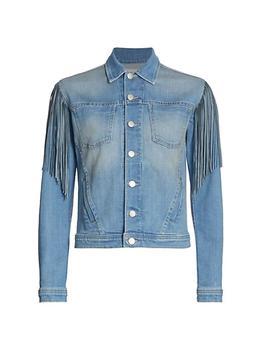 商品Celine Fringed Denim Jacket图片