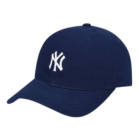商品【韩国直邮|包邮包税】MLB NY小Logo棒球帽 藏蓝色图片