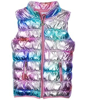 商品Apex Metallic Rainbow Puffy Vest (Toddler/Little Kids/Big Kids)图片