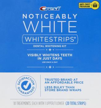 商品Crest Noticeably White Whitestrips图片